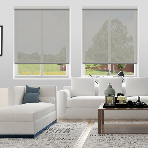 Voile Light Grey Lifestyle Roller blinds