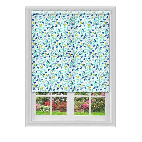 Ubley Teal Lifestyle Roller blinds