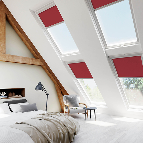 Fakro Red Lifestyle Skylight Blinds For FAKRO