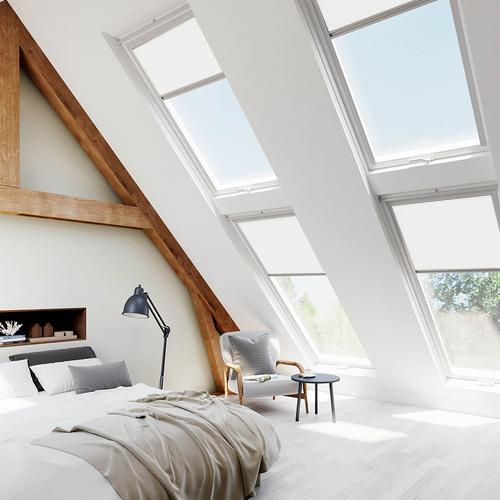 Velux Ultra White Skylight Blinds For Velux