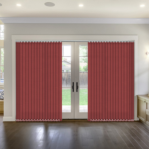 Thermal Cherry Vertical Lifestyle Thermal Blinds