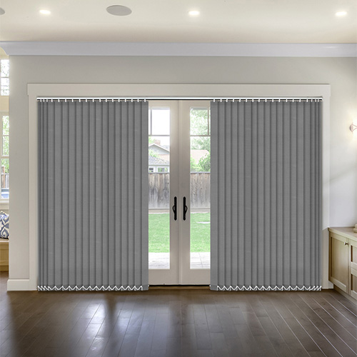 Thermal Grey Vertical Lifestyle Thermal Blinds