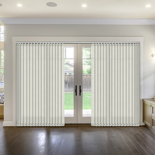 Thermal Vanilla Vertical Lifestyle Thermal Blinds