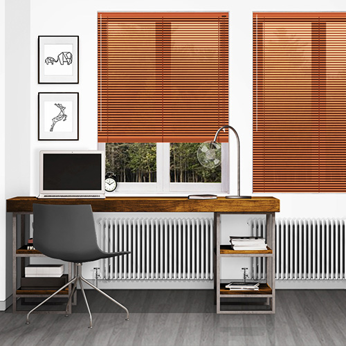 Jazz Terracotta Lifestyle Venetian blinds