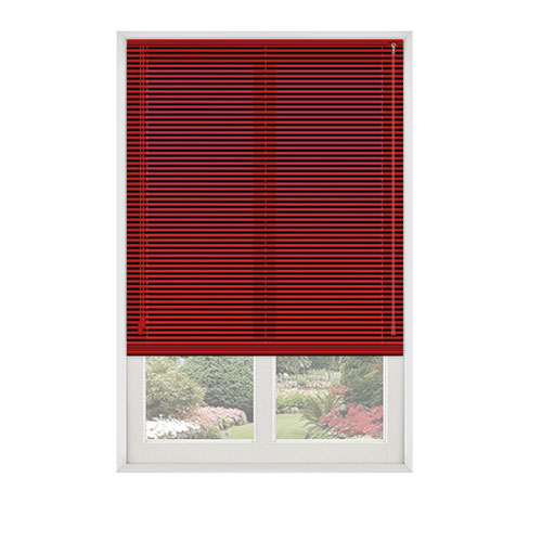 Red Lifestyle Venetian blinds