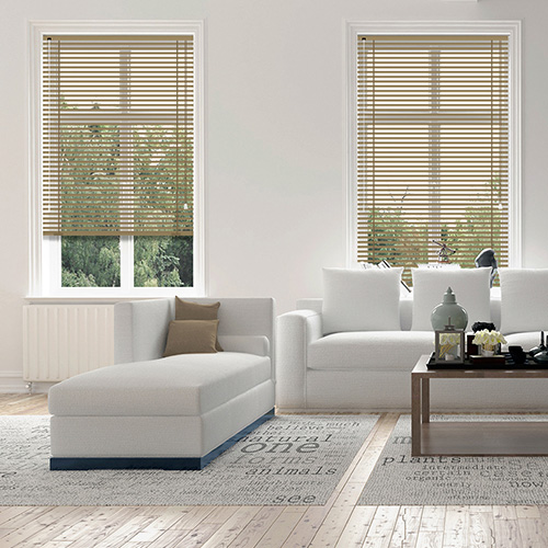 Wood Grain Walnut Lifestyle Venetian blinds
