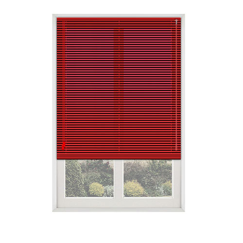Brick Red Lifestyle Venetian blinds