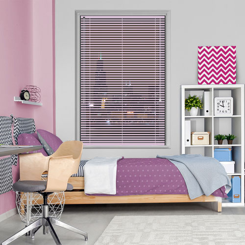Gloss Pink Lifestyle Venetian blinds