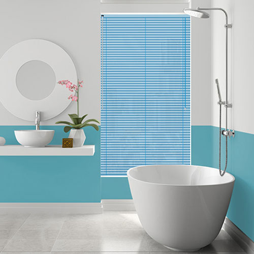 Sheen Blue Lifestyle Venetian blinds