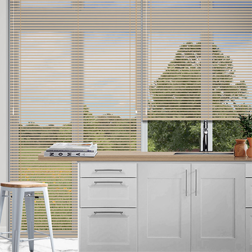 Lusso Buff Lifestyle Venetian blinds