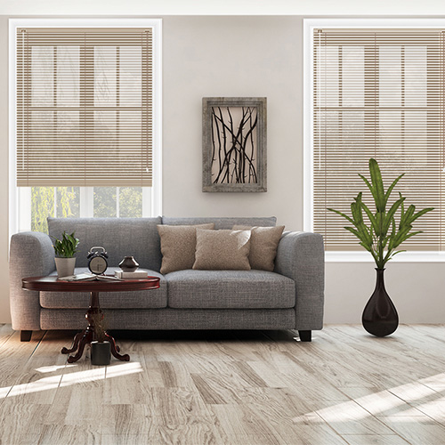 Putty Stripe Lifestyle Venetian blinds