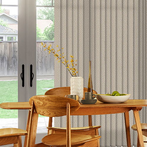 Alessi Ivory Lifestyle Vertical blinds