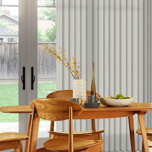 Alessi Snow Lifestyle Vertical blinds