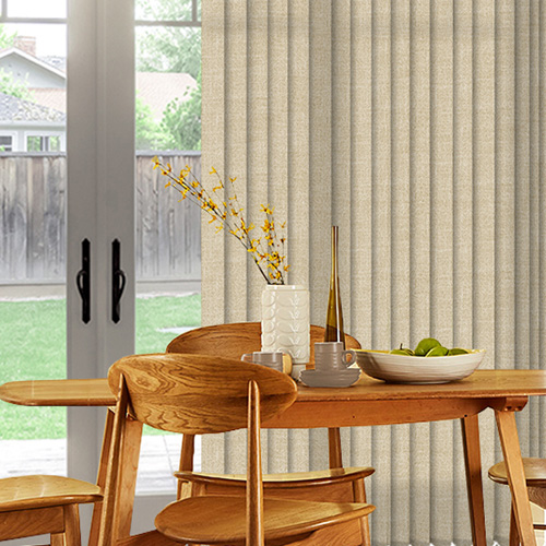 Bexley Creme Lifestyle Vertical blinds
