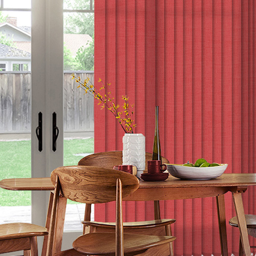 Henlow Chilli Lifestyle Vertical blinds