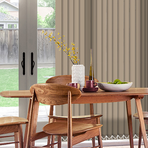 Sale Hessian Lifestyle Vertical blinds