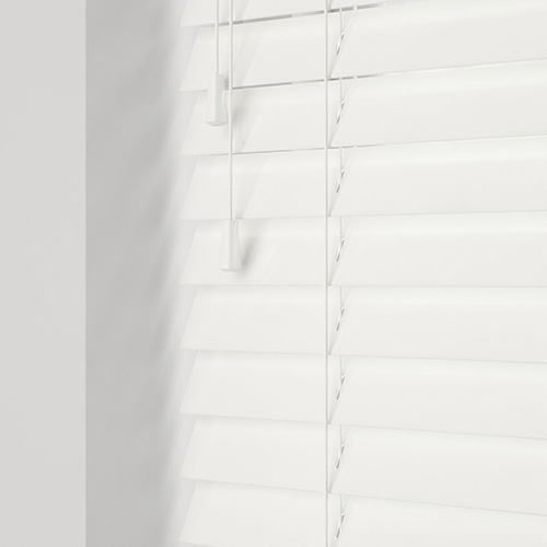 Glaze Silk White Lifestyle Wooden blinds