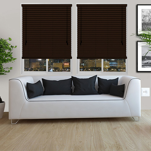 Miesque Lifestyle Wooden blinds