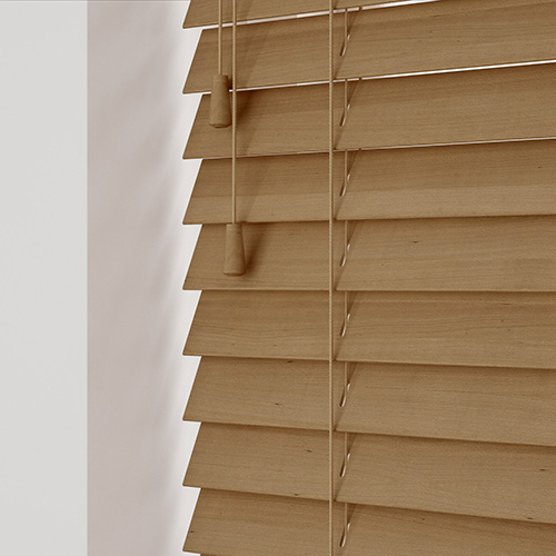Brown Tawny Lifestyle Wooden blinds