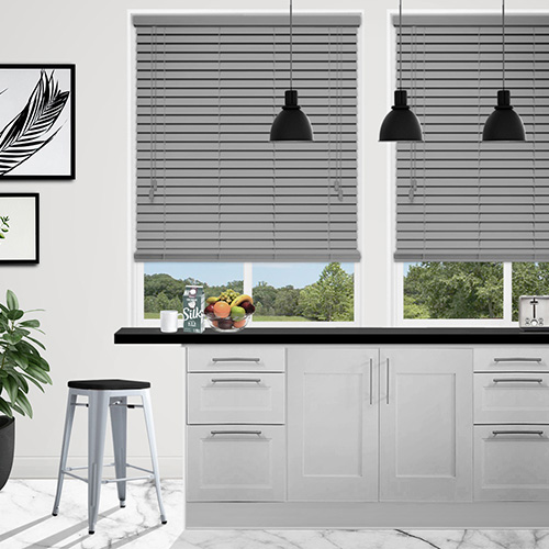Cinders Ash Lifestyle Wooden blinds