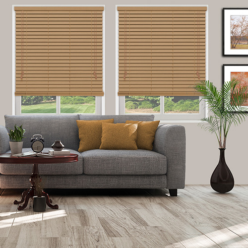 Golden Honey Lifestyle Wooden blinds