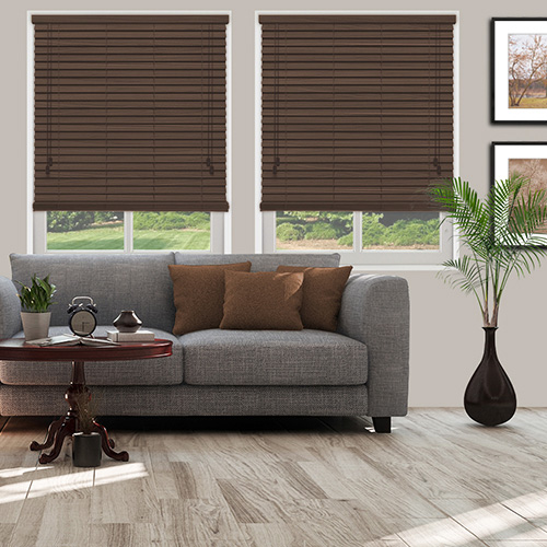 Inferno Walnut Lifestyle Wooden blinds