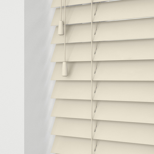 Mirren Cream Lifestyle Wooden blinds