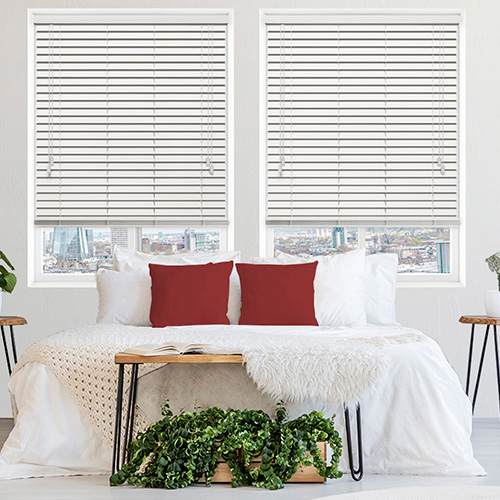 Polar White Lifestyle Wooden blinds