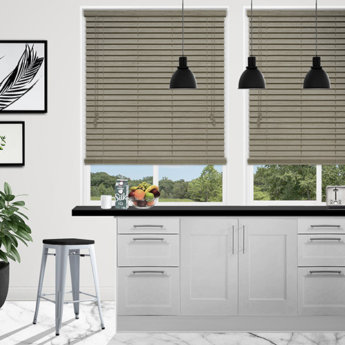 Urban Spec Natural Lifestyle Wooden blinds