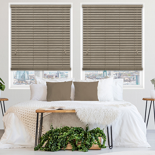 Urban Spec Oak Lifestyle Wooden blinds