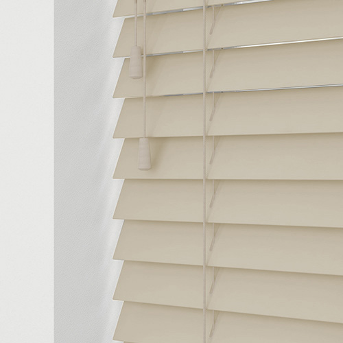 Abalone Cream Lifestyle Wooden blinds
