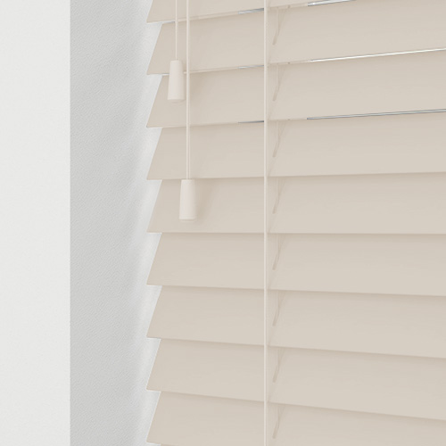Faux Creme Lifestyle Wooden blinds