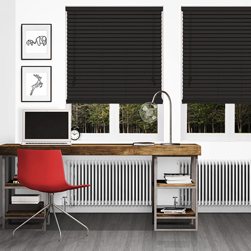 Ranch Brown Lifestyle Wooden blinds