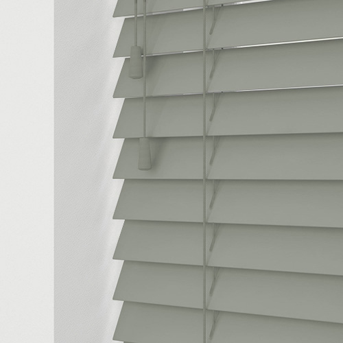 Seattle Grey Lifestyle Wooden blinds