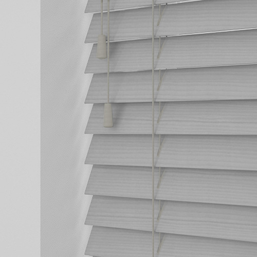 Silver Embossed Marlin Lifestyle Wooden blinds