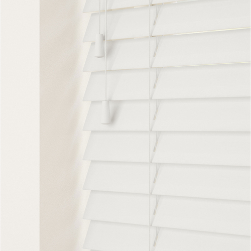 Smooth Frost White Lifestyle Wooden blinds