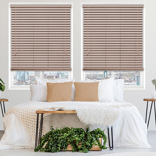 Calico Faux Lifestyle Wooden blinds