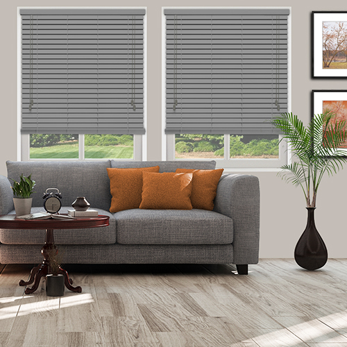 Carbon Grey Lifestyle Wooden blinds