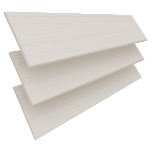 Cream Embossed Faux Wooden blinds
