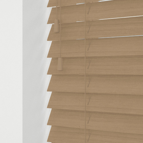 Oak Faux Lifestyle Wooden blinds
