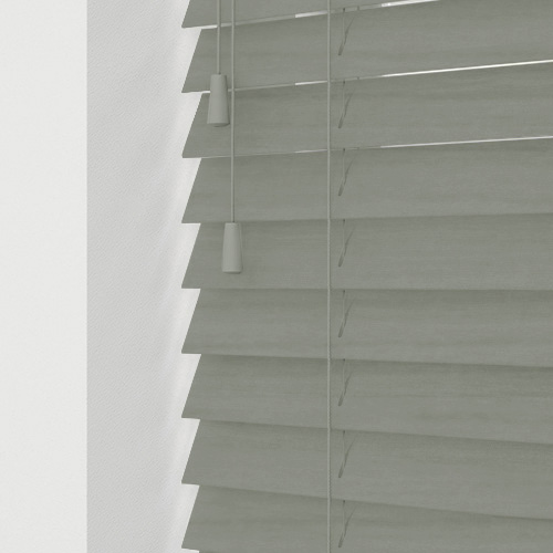 Slate Faux Lifestyle Wooden blinds