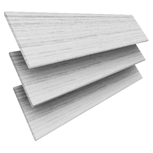 White Marl Faux Wooden blinds