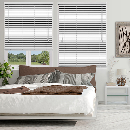 Native Cool White Lifestyle Wooden blinds
