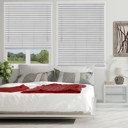 Native Off White Lifestyle Wooden blinds