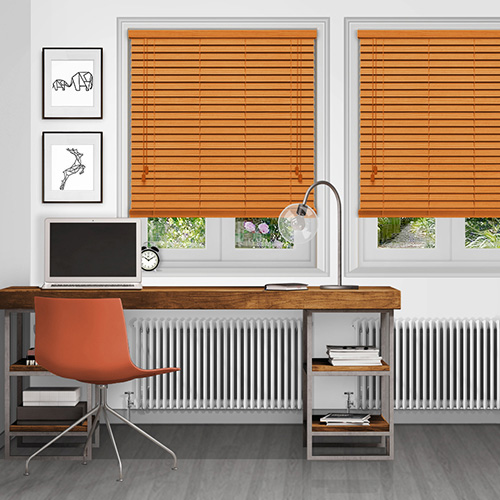 Native Red Oak Lifestyle Wooden blinds
