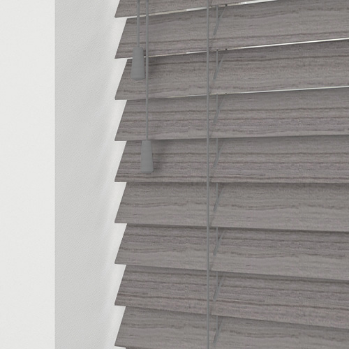Native Soft Grey Lifestyle Wooden blinds