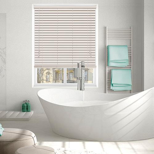 Native Soft White Lifestyle Wooden blinds