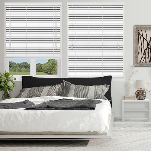 Native White Gloss Lifestyle Wooden blinds