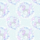 Click Here to Order Free Sample of Unicorn Lilac Childrens Blinds