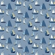 Click Here to Order Free Sample of Sailboat Blue Roller blinds